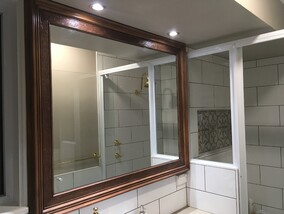 timber mirror get hammered builder carpenter narellan vale campbelltown oran park cobbitty