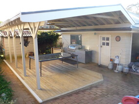 timber pergola steel pergola get hammered builder carpenter narellan vale campbelltown oran park cobbitty