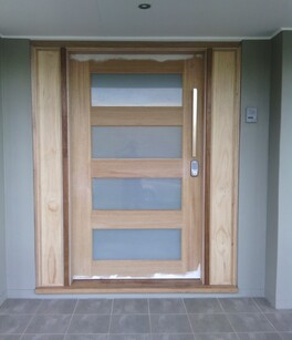 external door timber and glass door get hammered builder carpenter narellan vale campbelltown oran park cobbitty