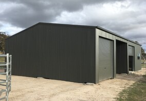 colorbond steel shed get hammered builder carpenter narellan vale campbelltown oran park cobbitty