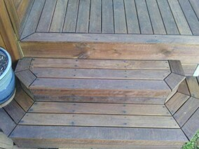 timber steps timber stairs get hammered builder carpenter narellan vale campbelltown oran park cobbitty